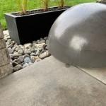 Boules en béton
